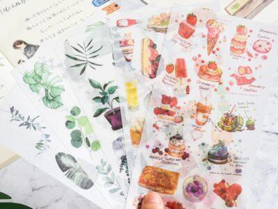 Washi Journal Sticker Pack