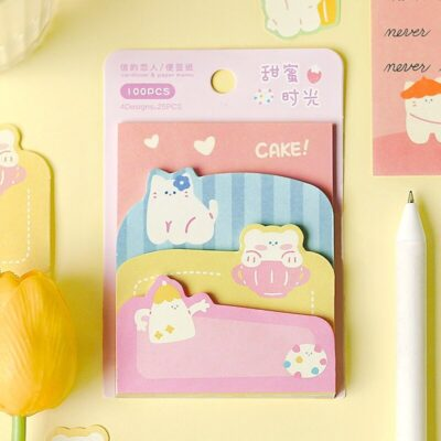 Lovely Summer Sticky Notes Pad