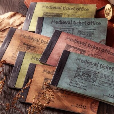 Medieval Tickets Book