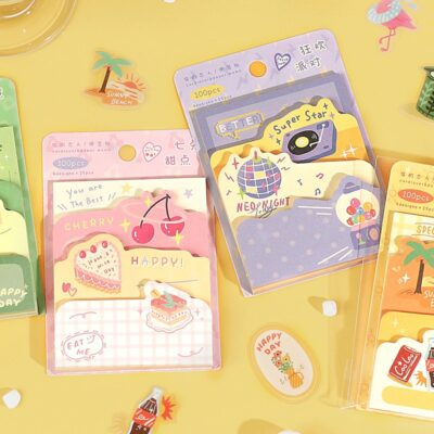 Summer Paradise Sticky Notes Pad